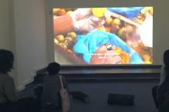 Video installation FLUX, Bogotá 2019