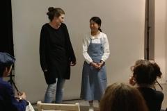 Melanie Klofat, Studio für elementare Zusammenhänge, Miki Yui  photo: Katja Velmans